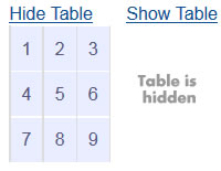 Append code (HTML + Javascript) to your tables